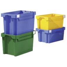 Dėžė EFB642 mėlyna, 600x400x200mm