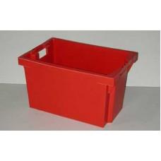 Dėžė FB604 raudona, 600x400x350mm