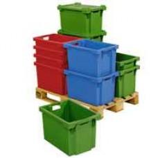 Dėžė FB604 geltona, 600x400x350mm
