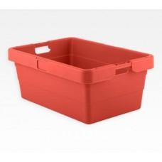 Dėžė KS18 raudona, 775/655x535/415x315mm