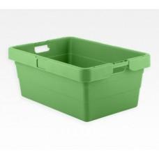 Dėžė KS18 žalia, 775/655x535/415x315mm