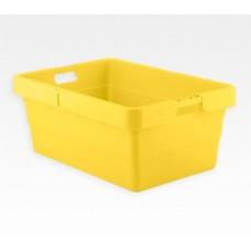 Dėžė KS18 geltona, 775/655x535/415x315mm