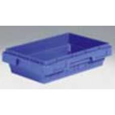 Dėžė KS51 mėlyna, 500/435x360/275x123mm