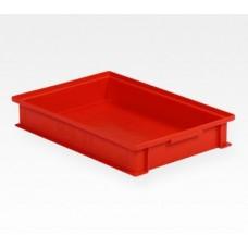 Dėžė 14/6-2F raudona, 450x300x72mm