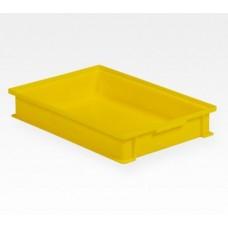 Dėžė 14/6-2F geltona, 450x300x72mm